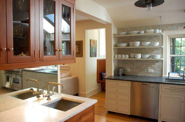 Kitchen design ideas with open shelves
