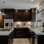 Dark kitchen – Spot lights