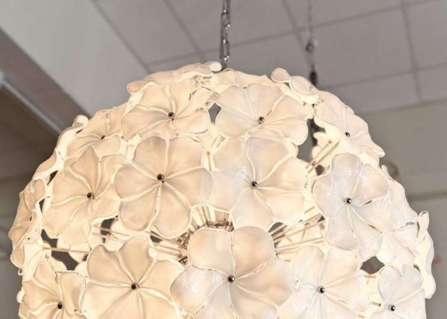 Flower chandelier 2