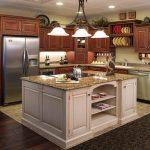 Kitchen island cabinets design